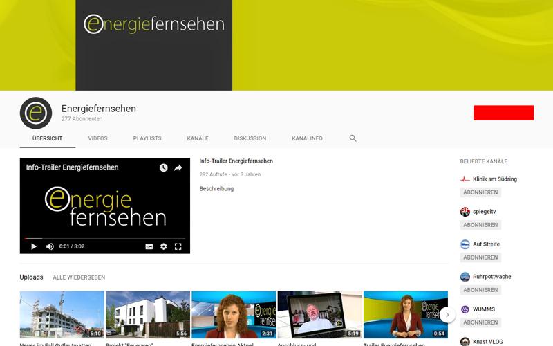 Energiefernsehen bei KABE